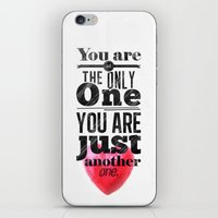 You are not the only One. iPhone & iPod Skin