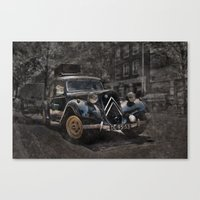 Ready for the trip Canvas Print