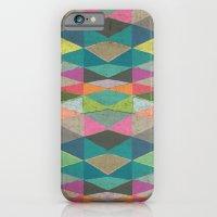 Colorblock Tribal Triangle Pattern iPhone 6 Slim Case