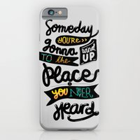 iPhone & iPod Case featuring Someday by eugeniaclara