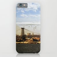 A HELICOPTER IN HER SKY, A SEAGULL ON HIS BRIDGE iPhone 6 Slim Case