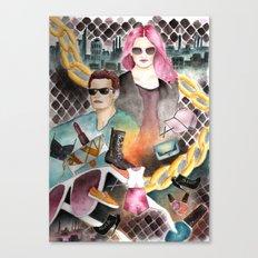 Urban Playground Canvas Print