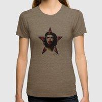 Mc Che Guevara, Eusebio … Womens Fitted Tee Tri-Coffee SMALL