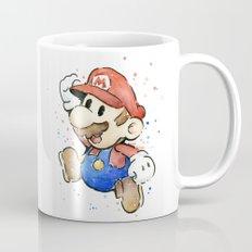 Mario Watercolor Mug