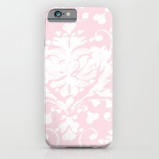 giving hearts giving hope: pink damask iPhone 6 Slim Case