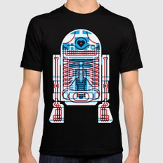 Artoo SMALL Mens Fitted Tee Black