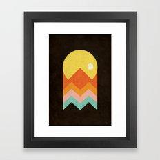 Amazeing Sunset Framed Art Print