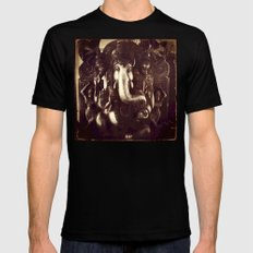 Ganesha  SMALL Mens Fitted Tee Black