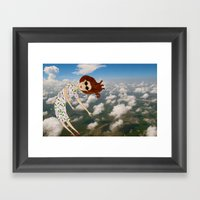 When You Need To Fly You… Framed Art Print