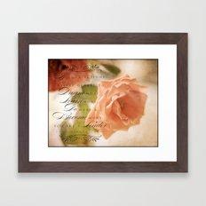 Beautiful Leader Framed Art Print