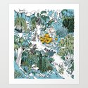 Kitchen Garden Art Print