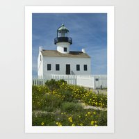 Cabrillo National Monument Lighthouse No 088 Art Print