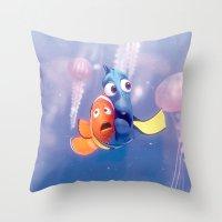 Finding Nemo Throw Pillow