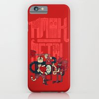 iPhone Cases featuring Amok and Totally Metal by Hector Mansilla