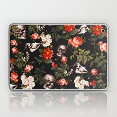 Floral And Skull Pattern Laptop & iPad Skin