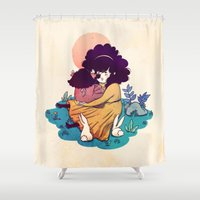 Sisters 5/5 Shower Curtain