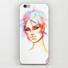 Rainbow Girl iPhone & iPod Skin