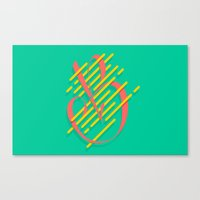 Tropical B Canvas Print