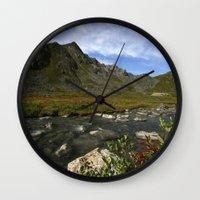 Hatcher Hike - Alaska Wall Clock