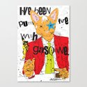 Cat People Canvas Print