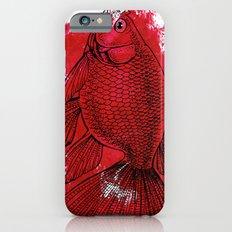 big red fish Slim Case iPhone 6s