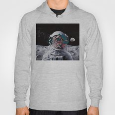 Spaceman oh spaceman, come rescue me (teal) Hoody