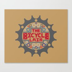 The Bicycle Lair Canvas Print