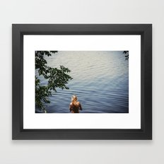 One, Two, Three Framed Art Print