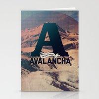 AVALANCHA Stationery Cards
