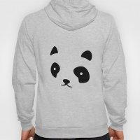 Minimalistic Panda face Hoody