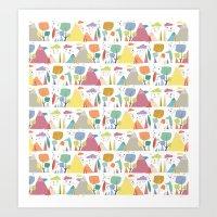 Spring Pattern 3 Art Print