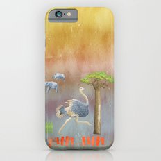 Run Fun - Ostrich Illustration  Slim Case iPhone 6s