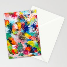 rainforest abstract 1 Stationery Cards