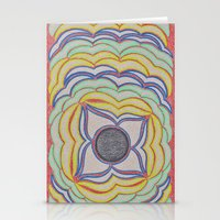 Center Circle 2 Stationery Cards