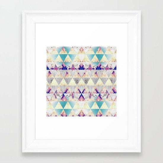 A Sea Flower Framed Art Print