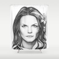 Dr. Cameron-House MD-Jen… Shower Curtain