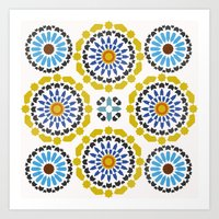 Moroccan Pattern Art Print