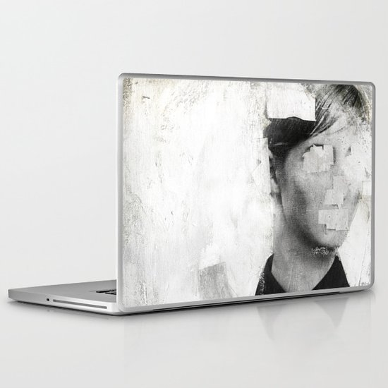 Faceless | number 01 Laptop & iPad Skin