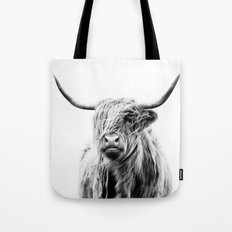 Portrait Of A Highland C… Tote Bag