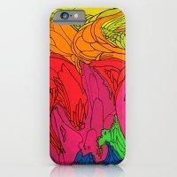 Neon Swirl iPhone 6 Slim Case