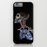 iPhone & iPod Case featuring Blood, Breath, Bone by Birdskull Studios
