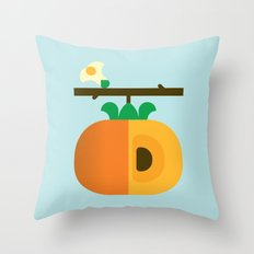 Fruit: Persimmon Throw Pillow