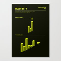 The LATERAL THINKING Project - Movimiento Canvas Print