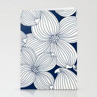 Dogwood Big Linear Flora… Stationery Cards