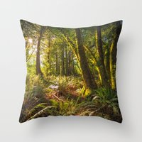 Redwood Regional Throw Pillow