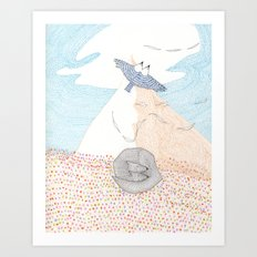 EVEN AIR Art Print