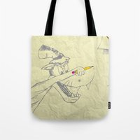 I Am The Bad Wolf And I … Tote Bag