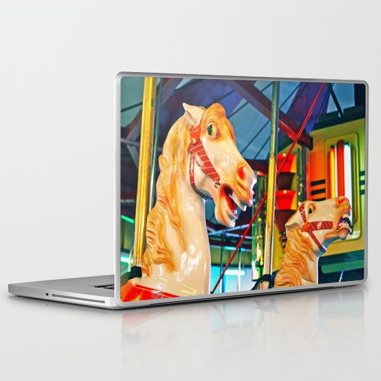 Carousal racers Laptop & iPad Skin