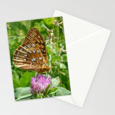 Great Spangled Fritillary Butterfly 2 Stationery Cards