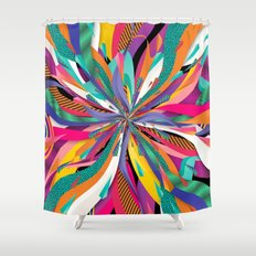 Pop Tunnel Shower Curtain